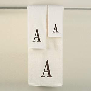 Monogram Letter Hand Towel