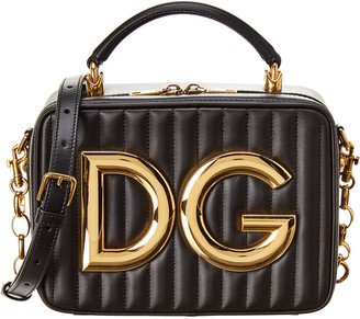 Dolce & Gabbana Small Leather Crossbody