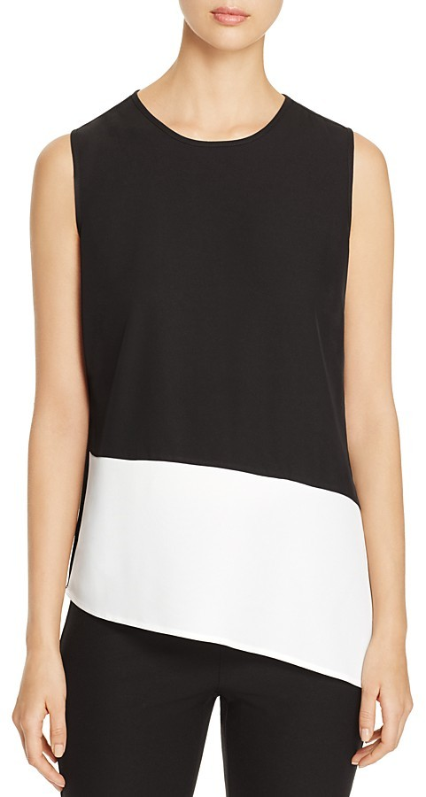 Calvin Klein Calvin Klein Color Block Sleeveless Top