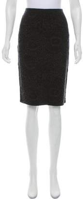 Eileen Fisher Knee-Length Knit Skirt