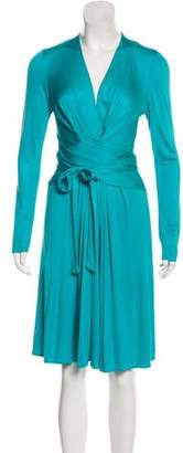Issa Draped Midi Dress