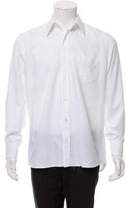 Dolce & Gabbana Herringbone Button-Up Shirt