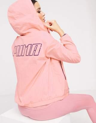 Puma wind jacket in pink