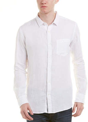 Knowledge Cotton Apparel Knowledgecotton Linen Woven Shirt