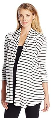 Tart Collections Women's Maternity Lexa Flowing Wrap Cardigan