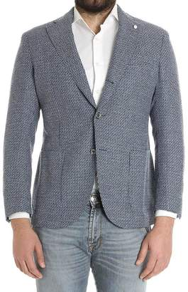 Luigi Bianchi Mantova Checkered Jacket
