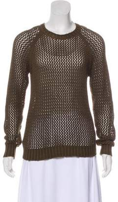 Etoile Isabel Marant Loose Knit Crew Neck Sweater