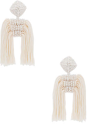 Sachin + Babi Short Tassel Dupio Earrings
