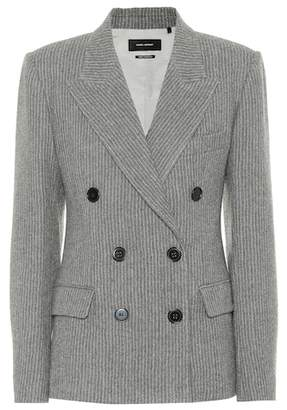 Isabel Marant Eleigh wool and linen blazer