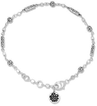 Lois Hill Sterling Silver Filigree Bar Bracelet