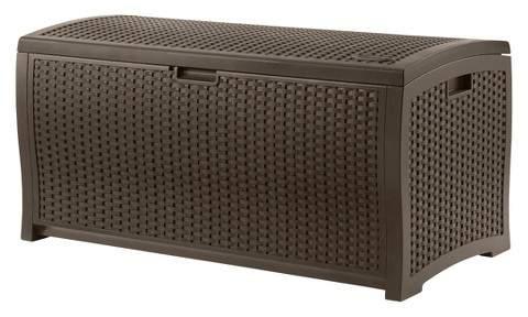 Resin Wicker Deck Box (99 Gallon)