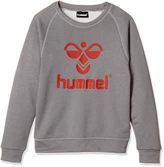 Hummel (ヒュンメル) - [ヒュンメル] サッカー ジュニアスウェットクルーネック HJY7044 [ボーイズ] グレー杢 (01) 日本 150 (日本サイズ150 相当)