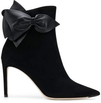 Jimmy Choo Bow ankle boots