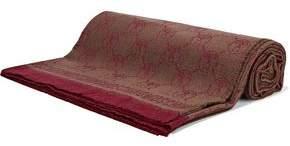 Moschino Frayed Wool-Jacquard Scarf