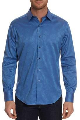 Robert Graham Haystack Tonal Paisley Jacquard Classic Fit Shirt
