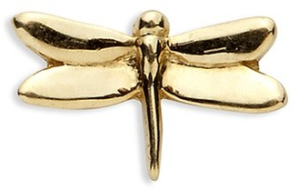 Loquet London 18k yellow gold dragonfly charm - Strength