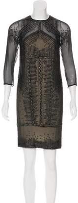 Kaufman Franco KAUFMANFRANCO Silk Embellished Dress