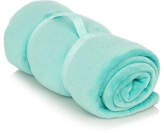 George Home Super Soft Extra Large Teal Throw