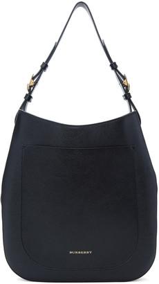 Burberry Black Small Elmstone Hobo Bag $1,250 thestylecure.com