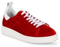 Golden Goose Velvet Starter Sneakers