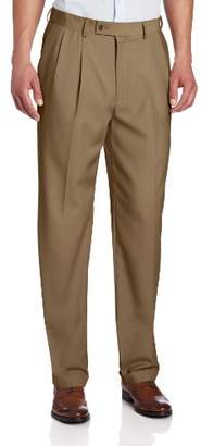 Louis Raphael ROSSO Men's Column Weave Pleated Pant