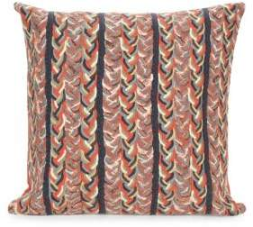 Visions III Braided Stripe Indoor-Outdoor Pillow