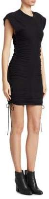 Alexander Wang Side-Tie T-Shirt Dress