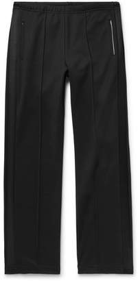 Maison Margiela Satin-Trimmed Tech-Jersey Trousers