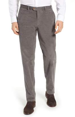 Hiltl Pero Trim Fit Stretch Flat Front Trousers