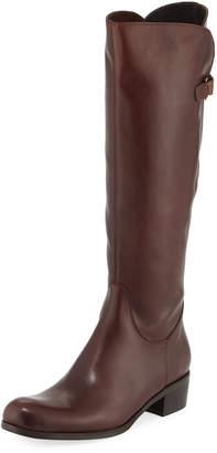 Sesto Meucci Zena Calf-High Riding Boot, Brown