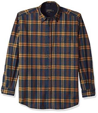 Pendleton Men's Size Long Sleeve Button Front Tall Lodge Shirt