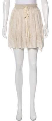 Raquel Allegra Knee-Length High-Low Skirt