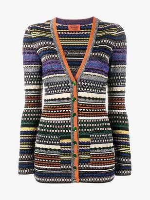 Missoni lurex stripe cardigan