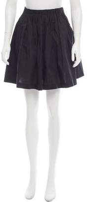 3.1 Phillip Lim Gathered Mini Skirt