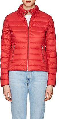 William Rast WOMEN'S DOWN PUFFER BOMBER JACKET - RED SIZE L