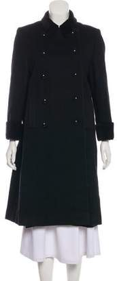 Christian Dior Long Double-Breasted Coat