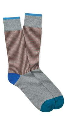 J.Mclaughlin Contrast Stripe Socks