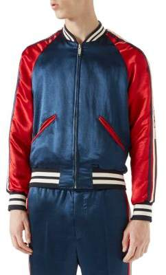 Gucci Silky Varsity Track Jacket