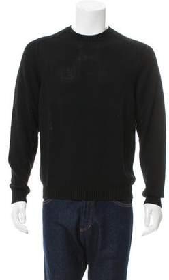 Jeffrey Rüdes Crew Neck Rib Knit-Trimmed Sweater w/ Tags