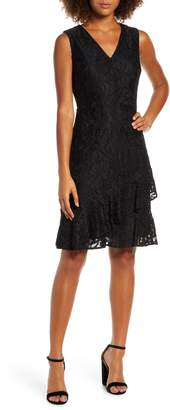 Sam Edelman Ruffle Tiered Lace Dress