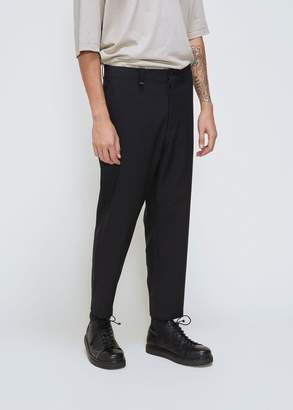 Oamc Wool Cropped Zip Pant