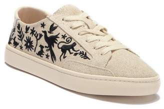 Soludos Otomi Embroidered Lace-Up Sneaker