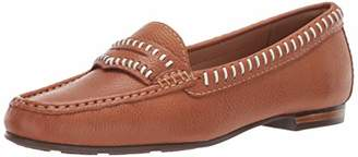 Driver Club USA Womens Genuine Leather Made in Brazil Maple Ave Loafer