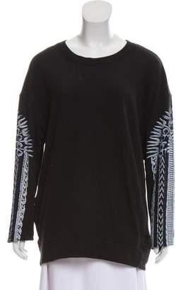 Raquel Allegra Oversize Knit Sweatshirt