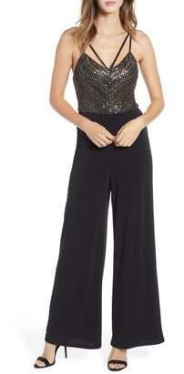 Leith Sequin Bodice Jumpsuit
