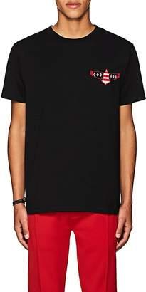 Marcelo Burlon County of Milan Men's Logo-Eagle Cotton T-Shirt