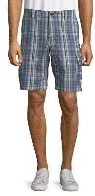 Tommy Bahama Marina Bay Plaid Cargo Shorts