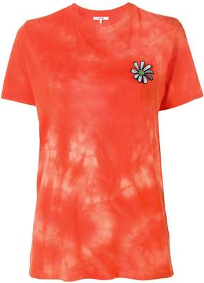 Ganni floral applique T-shirt