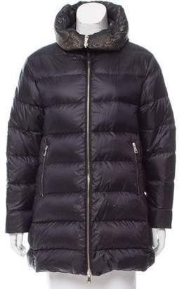 Moncler Colliers Reversible Coat