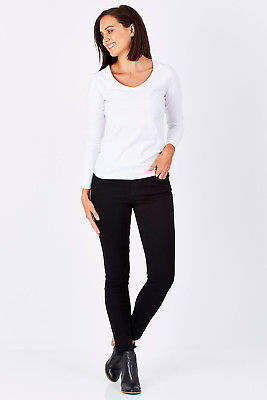 Liverpool NEW Womens Skinny Jeans Abby Skinny BlackRinse